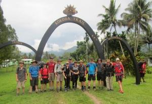 The beginning of our journey, starts at Kokoda