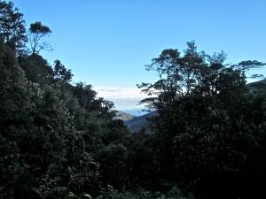 The view from Kokoda Gap