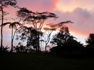 Sunset at Naduri