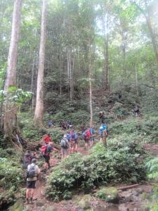 The bottom of the mountain leading to Imita Ridge