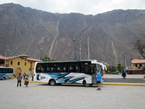 Pit stop at Ollantaytambo