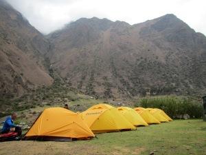 Wayllabamba Camp Site