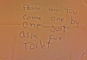 Rosemary's note!