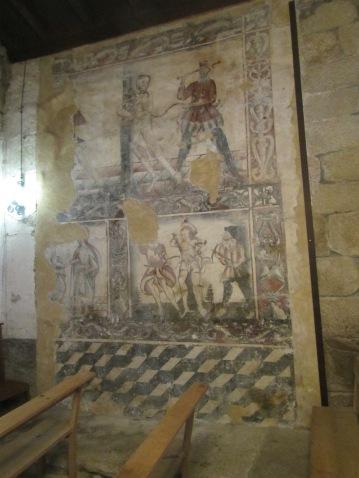 Original 13th Century painting.