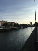 Liffey River, Dublin.