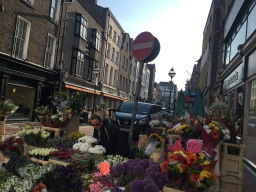 The streets of Dublin.