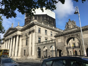 Dublin Courthouse.