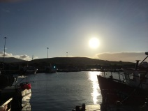 Sunrise in Dingle.