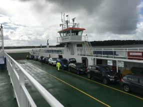 My ferry across the Atlantic