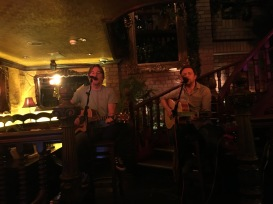 This awesome duo did happen to play a Springsteen number...