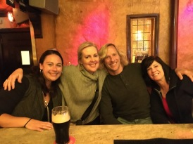 My new friends, Danielle, Doug & Cindy.